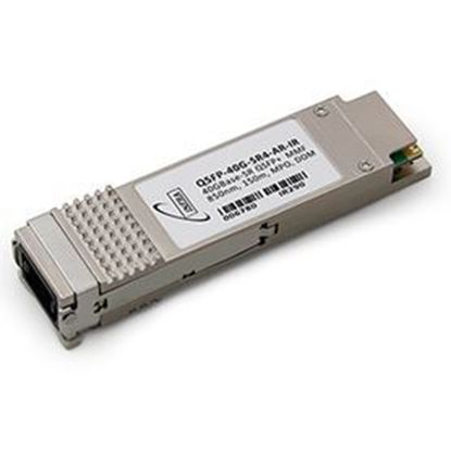 Picture of INFRA Brand - Arista Networks« QSFP-40G-SR4 Compatible TAA Compliant 40GBase-SR4 QSFP+ Transceiver (MMF, 850nm, 150m, MPO, DOM) - Lifetime Warranty