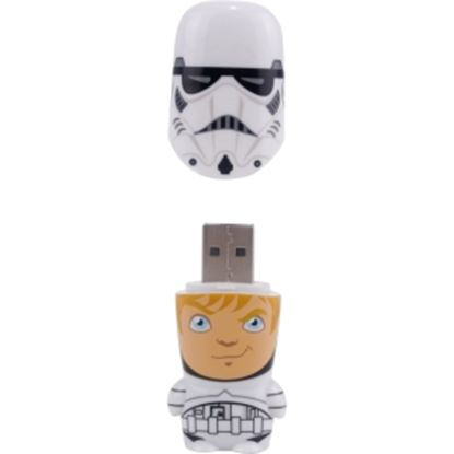 Picture of Mimoco 16GB MIMOBOT USB 2.0 Flash Drive - Stormtrooper Unmasked