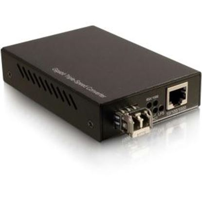 Picture of C2G 10/100/1000 Base-TX to 1000Base LC Gigabit Media Converter