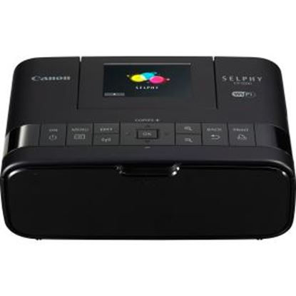 """Picture of Canon SELPHY CP1200 Dye Sublimation Printer - Color - Photo Print - Portable - 2.7"""" Display - Black"""