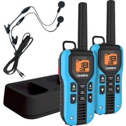 Picture of Uniden GMR4055-2CKHS Two Way Radio with Charger and Headsets