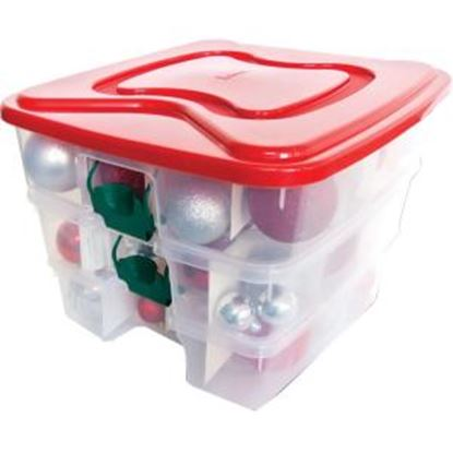 Picture of Homz 3-In-1 Holiday Storage Tote
