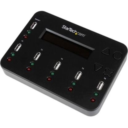 Picture of StarTech.com Standalone 1:5 USB Flash Drive Duplicator and Eraser - Flash Drive Copier