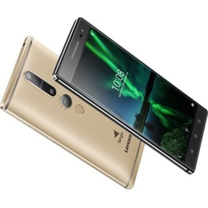 """Picture of Lenovo Phab 2 Pro 64 GB Smartphone - 6.4"""" LCD QHD 2560 x 1440 - 4 GB RAM - Android 6.0 Marshmallow - 4G - Champagne Gold"""