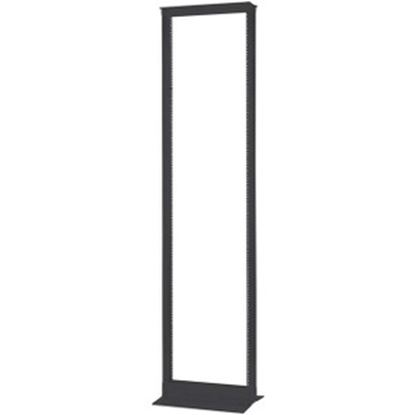 Picture of C2G 45U 2-Post Open Frame Rack (TAA Compliant) - Black