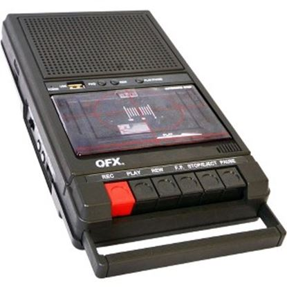 Picture of QFX Shoebox Tape Recorder
