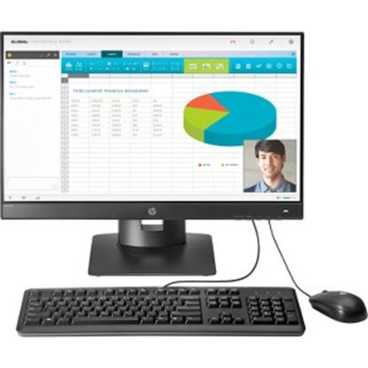 Picture of HP t310 G2 All-in-One Zero Client - Teradici Tera2321 - TAA Compliant
