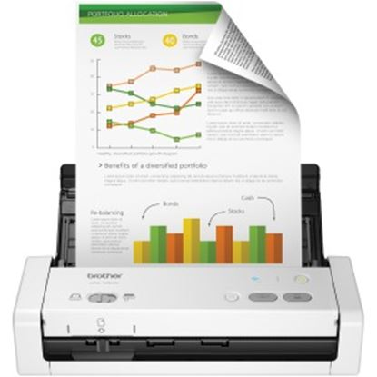 Picture of Brother ADS-1250W Wireless Compact Desktop Scanner