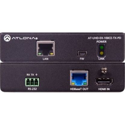 Picture of Atlona 4K/UHD HDBaseT Transmitter with Ethernet, Control and PoE