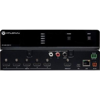 Picture of Atlona 4K/UHD Five-Input HDMI Switcher