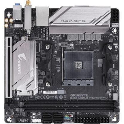 Picture of Aorus Ultra Durable B450 I AORUS PRO WIFI Desktop Motherboard - AMD Chipset - Socket AM4
