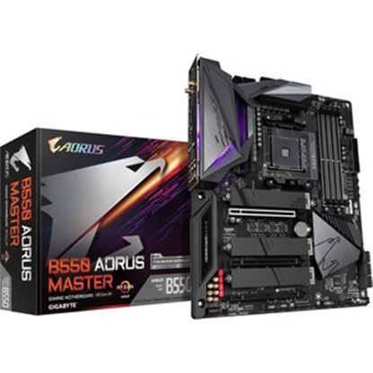 Picture of Aorus Ultra Durable B550 AORUS MASTER Desktop Motherboard - AMD Chipset - Socket AM4