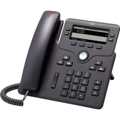 Picture of Cisco 6851 IP Phone - Corded - Charcoal