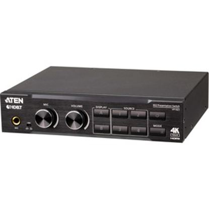 Picture of Aten 4 x 2 True 4K Presentation Matrix Switch with Scaling, DSP, and HDBaseT-Lite