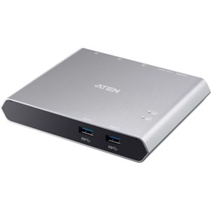 Picture of Aten 2-Port USB-C Gen 1 Dock Switch with Power Pass-through