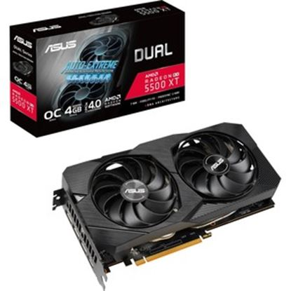 Picture of Asus Dual DUAL-RX5500XT-O4G-EVO Radeon RX 5500 XT Graphic Card - 4 GB GDDR6