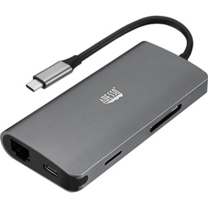 Picture of Adesso 8 in 1 USB-C Multiport Docking Station