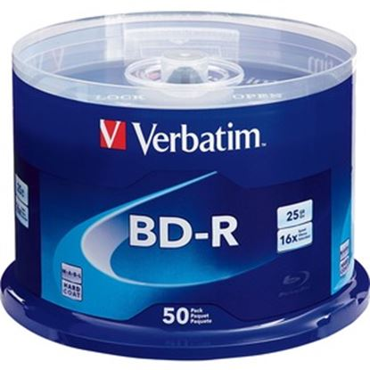 Picture of BD-R 25GB 16X with Branded Surface - 50pk Spindle