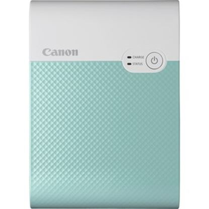 Picture of Canon SELPHY QX10 Dye Sublimation Printer - Color - Photo Print - Portable - Green